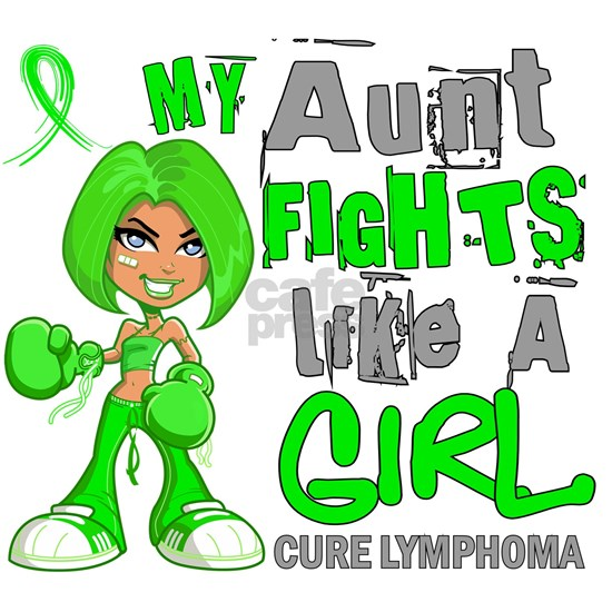 D Aunt Fights Like Girl Lymphoma 42.9