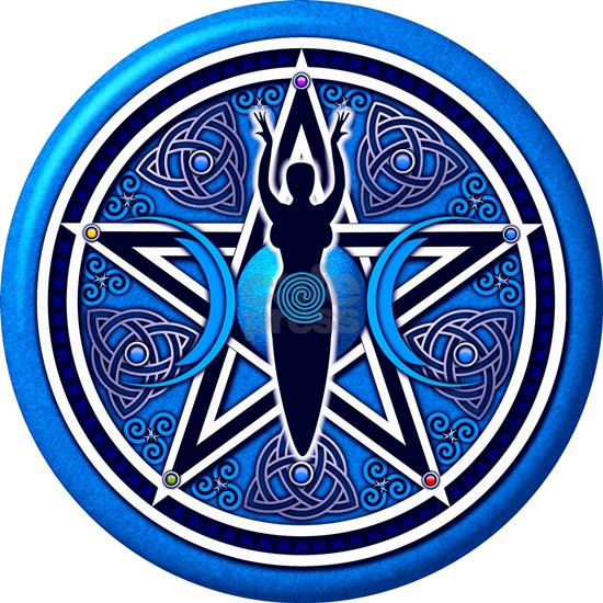 Blue Goddess Pentacle - 02