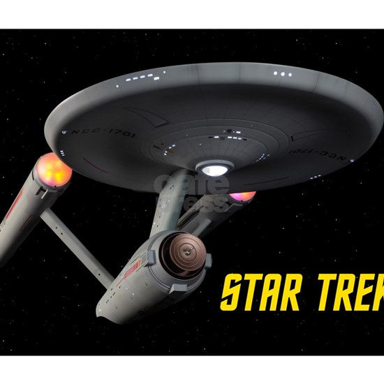 USS Enterprise High Resolution
