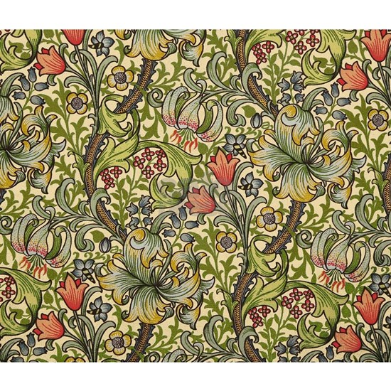 William Morris Golden Lily pattern