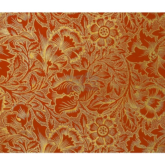 William Morris Poppy Design