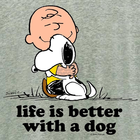 Charlie Brown and Snoopy - Life is Better