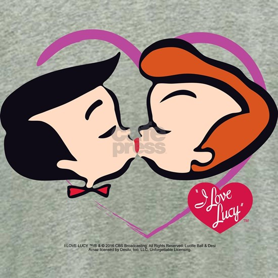 I Love Lucy: Stick Heads Kiss