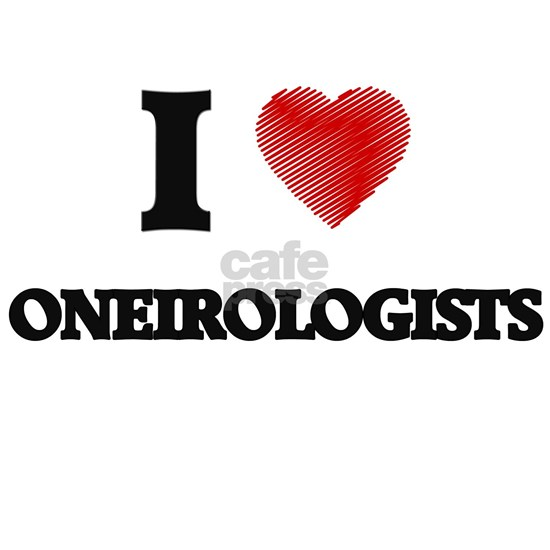 I love Oneirologists (Heart made from words)