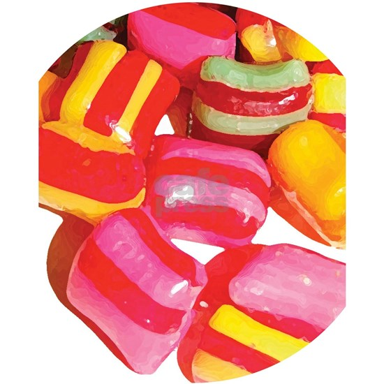 Vintage Style Candy Design Puzzle by Ecoangel - CafePress