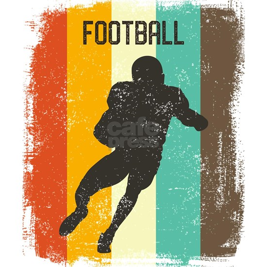 Football Retro 70s Vintage Gridiron Men Gift