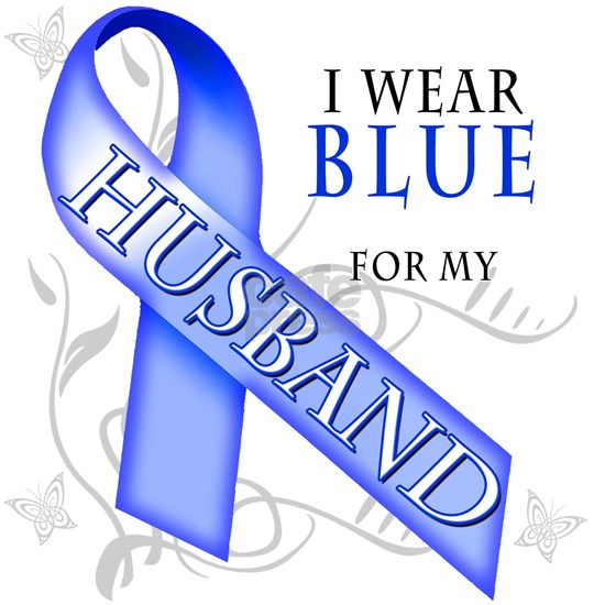 I Wear Blue for my Husband