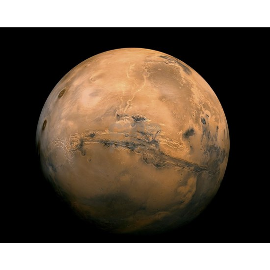 Mars Globe - Valles Mariners by JPL - NASA