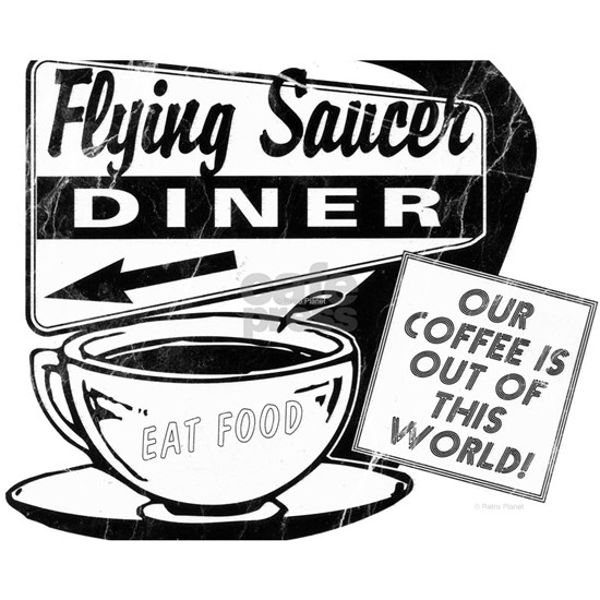 Flying Saucer Diner Puzzle