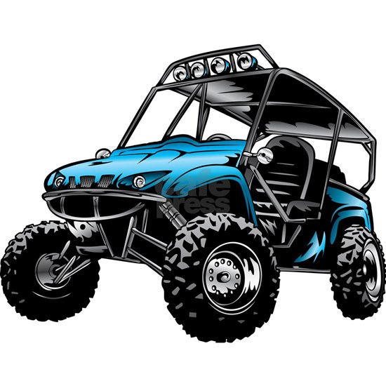 Blue ATV Side X Side Off Road