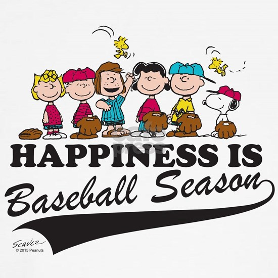 Peanuts - Happiness is Baseball Season