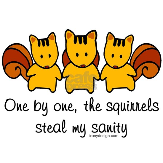 One by One The Squirrels
