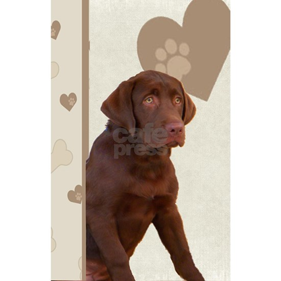 Chocolate Lab Puppy Love Cards