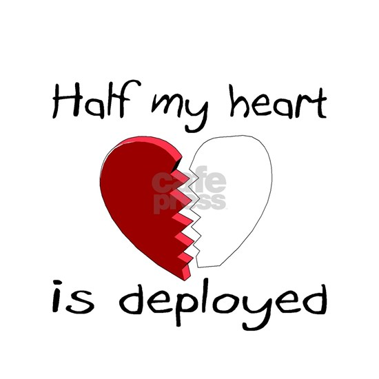 half my heart is deployed