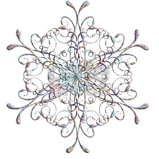 Iridescent Snowflake