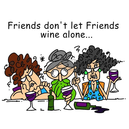Friends and Wine