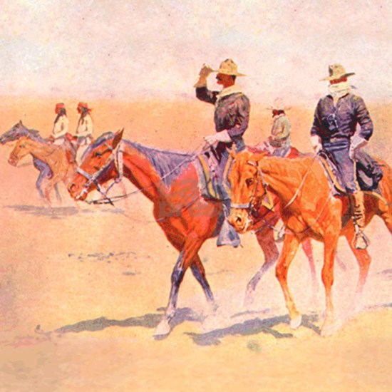 Old West Cavalry
