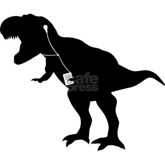 Cool dancing mp3 T-REX dinosaur design
