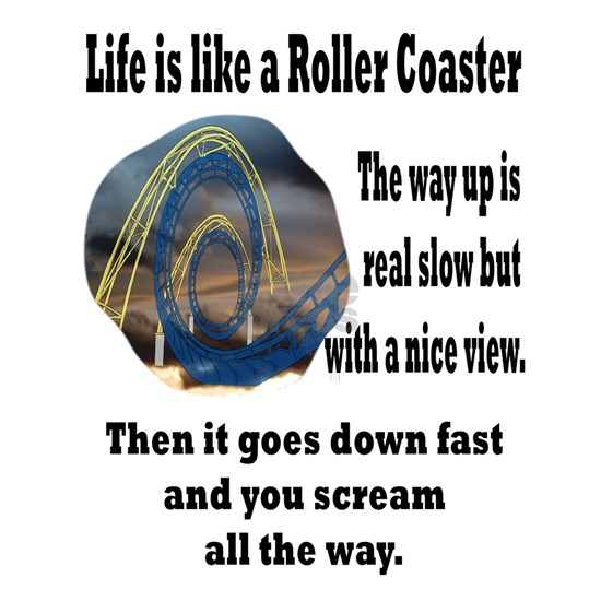 life is a roller coaster