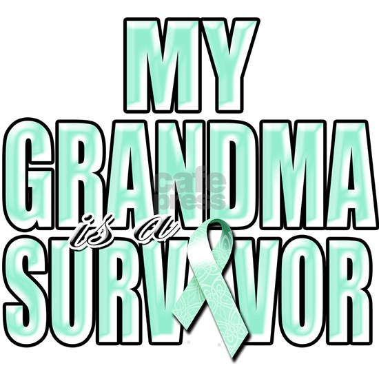 My Grandma is a Survivor (teal)