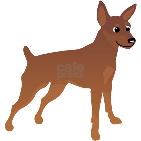 Cartoon Miniature Pinscher 3