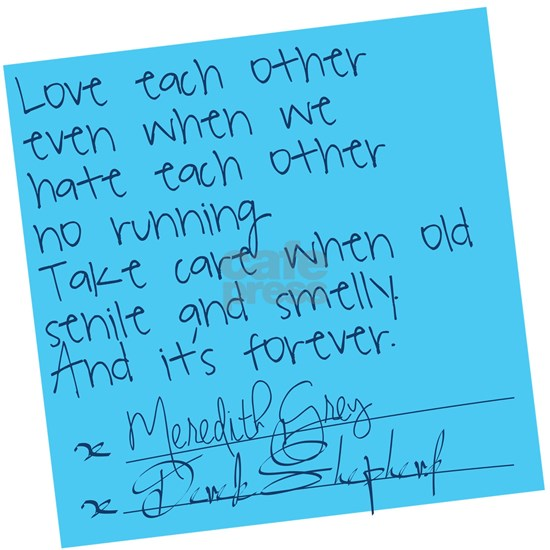 Greys Anatomy Sticky Note