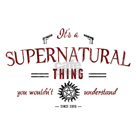 It's a Supernatural Thing red