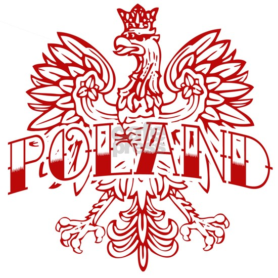 Poland Ink White Eagle Red