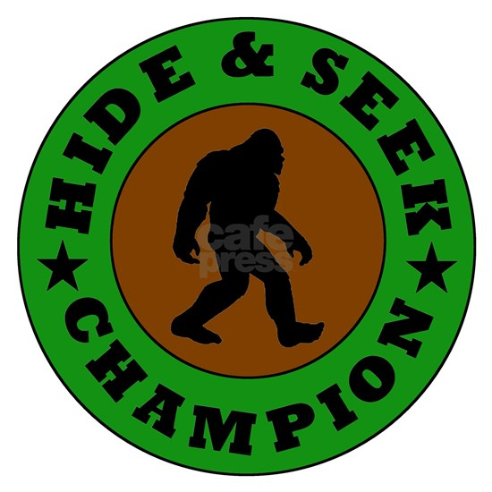 Bigfoot Hide And Seek Champion