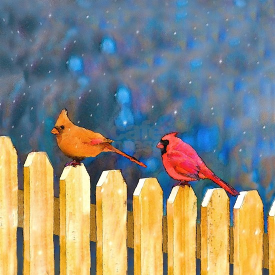 Cardinals on the Fence