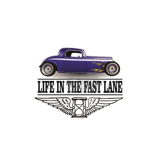 life in the fast lane blue ride