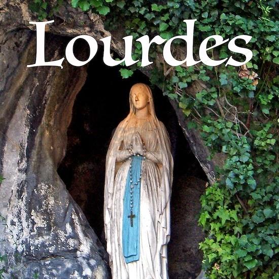 Virgin Mary Lourdes