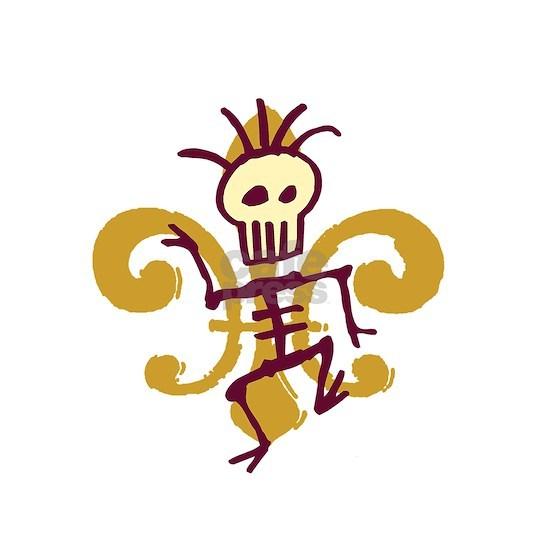 Bone Man Fleur De Lis