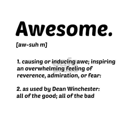 Supernatural: Vital information- Awesome