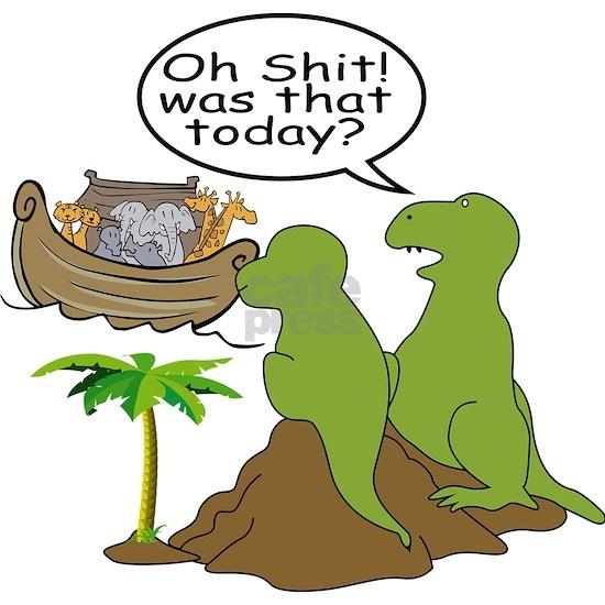Noah and T-Rex, Funny