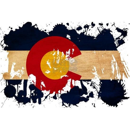 Colorado textured splatter copy