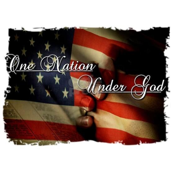 one nation under god(blk)