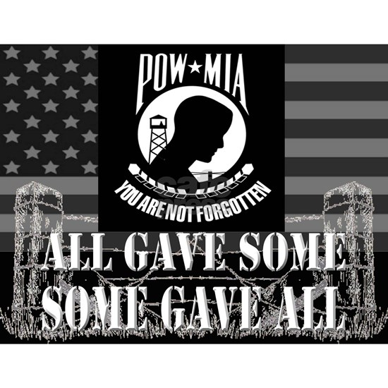 Pow-Mia All Gave Some Some Gave All
