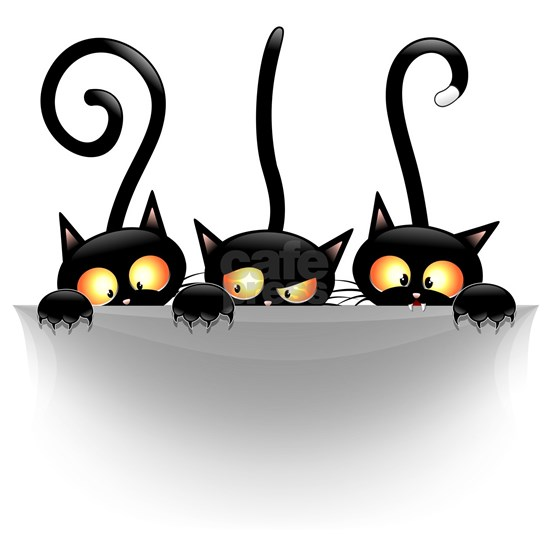 Three Naughty Playful Kitties