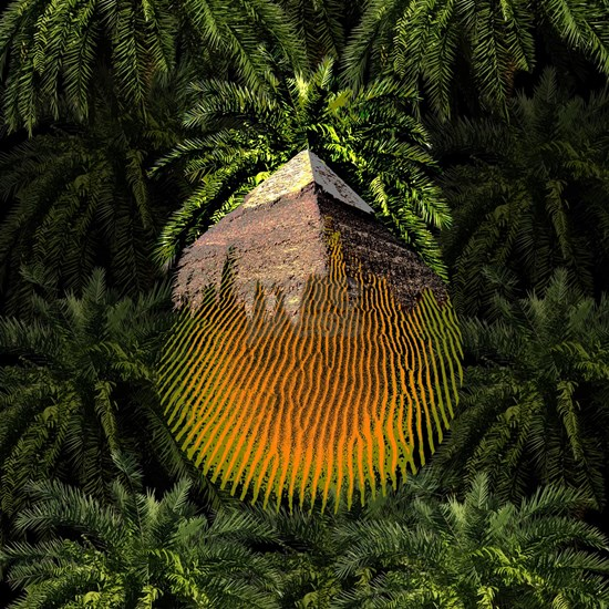 Palm Pyramid Desert Spirit
