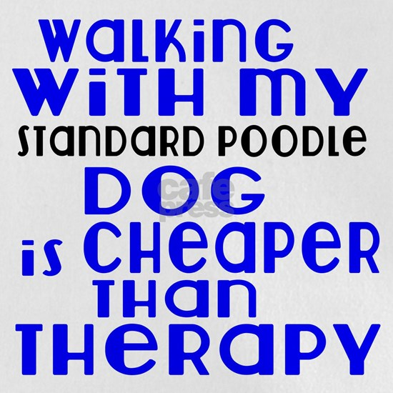 Walking With My Standard Poodle Dog