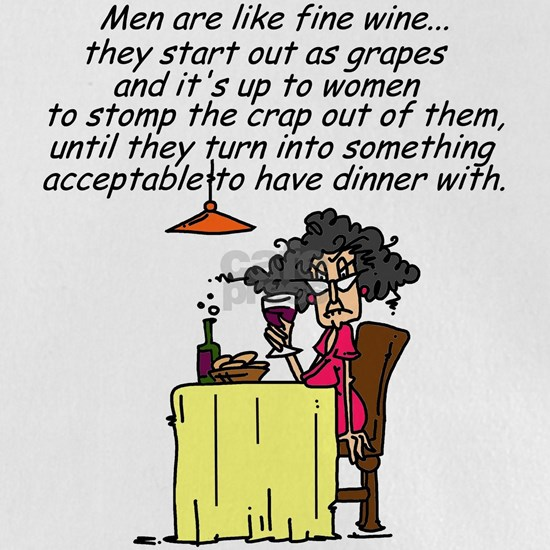Men and Fine Wine Humor