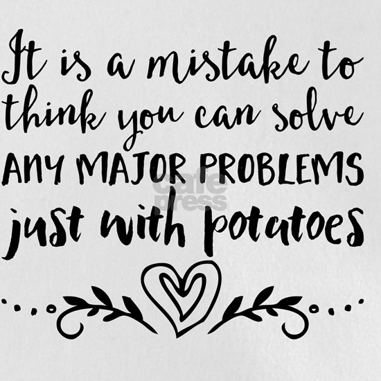 It is a mistake to think you can solve any major p
