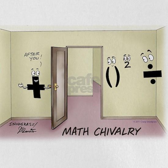 Pi_68 Math Chivalry (7.5x5.5 Color)