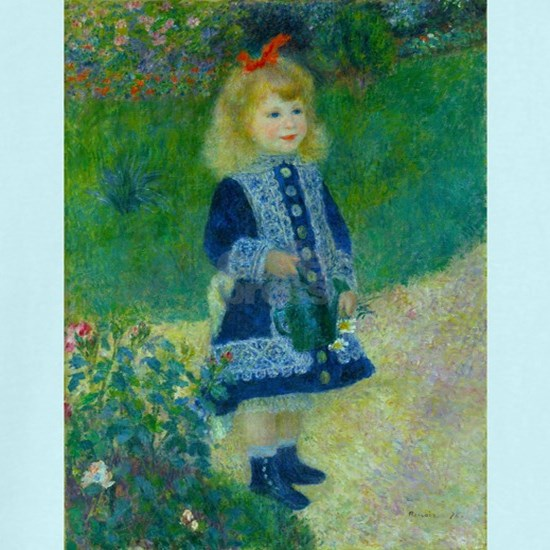 A Girl with a Watering Can by Renoir