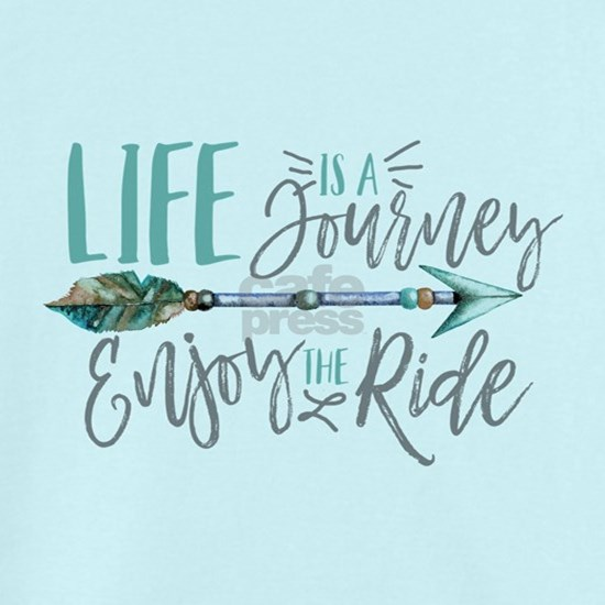 Bohemian Typography Life Is A journey