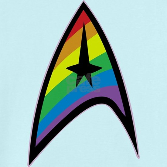 Star Trek LGBTQ Rainbow