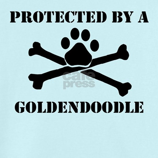 Protected By A Goldendoodle