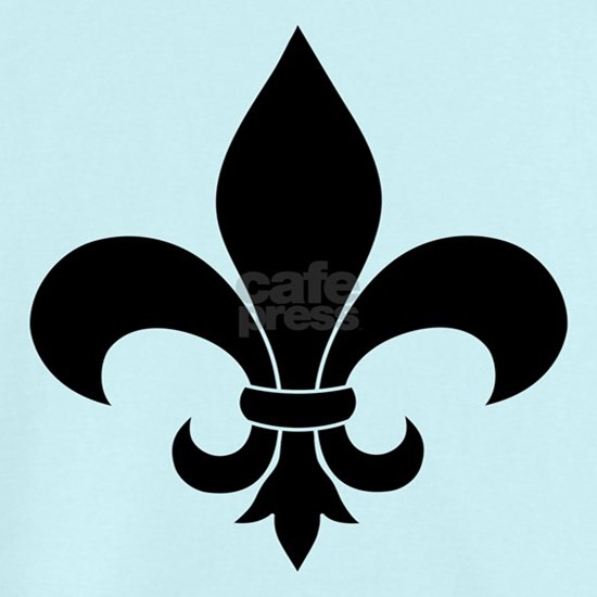 French fleur de lis Pattern Parisian Design