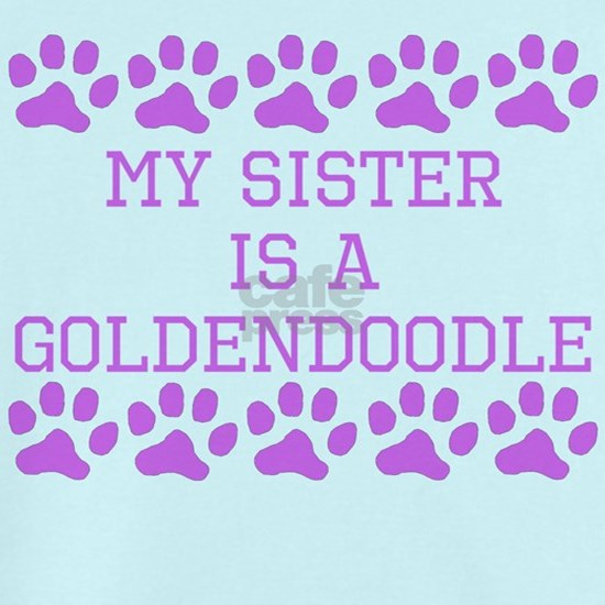 My Sister Is A Goldendoodle